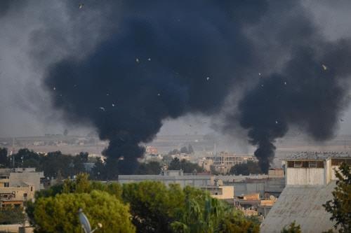"""""""터키, 시리아내 쿠르드 지역 공격, 15명 사망…민간인 8명"""""""